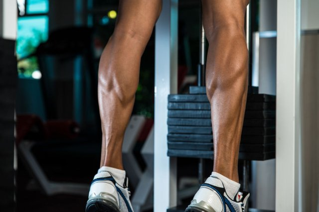 Leg training maximum stimulation in a short period of time